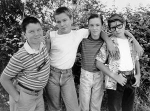 <em>Stand By Me</em> (1986) starring Jerry O'Connell, River Phoenix, Wil Wheaton and Corey Feldman.