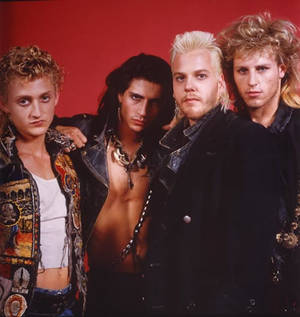 <em>The Lost Boys</em> (1987).