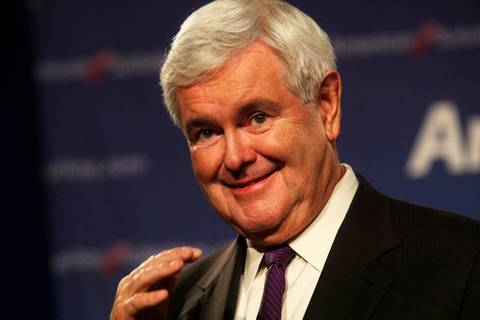 Newt Gingrich-Sharron Angle Rally