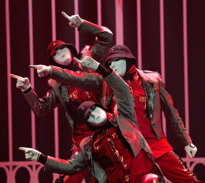 Jabbawockeez's Grand and VIP Opening Party at Monte Carlo on ...