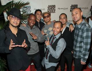 Jabbawockeez's Grand and VIP Opening Party at Monte Carlo on Oct. 22, 2010.