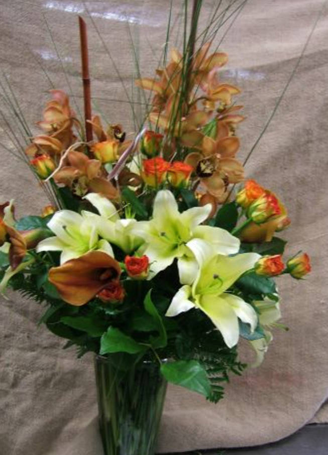 Flowers Sharron Angle sent to Joy Behar.