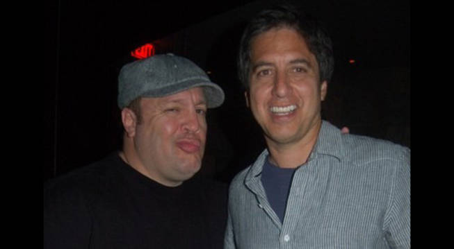 Kevin James and Ray Romano, a comedy tag team at Jet.
