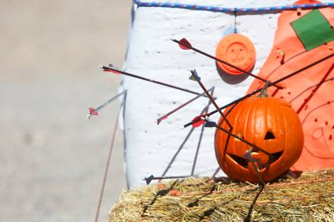 Pumpkin Smash at the Clark County Shooting Park