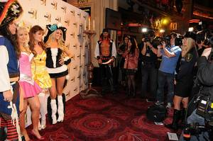 2010 Halloween: Holly Madison at Studio 54