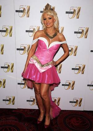 Holly Madison at Studio 54 in MGM Grand on Oct. 30, 2010.