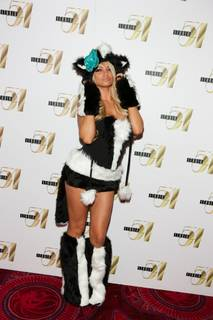 2010 Halloween: Holly Madison Judges Costume Contest at Studio 54