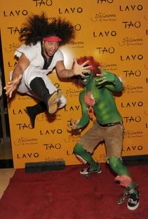 2010 Halloween: AnnaLynne McCord at Lavo