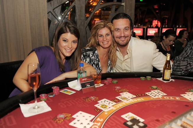 Gail Simmons, Jennifer Carroll and Fabio Viviani at Deuce Lounge ...