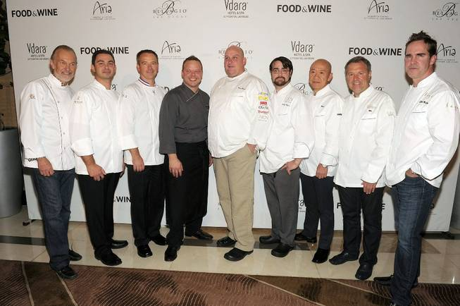 Las Vegas Chefs at <em>Food & Wine</em> All-Stars weekend at ...