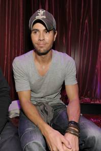Enrique Iglesias at LAX in the Luxor on Nov. 11, 2010.