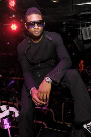 Usher's O.M.G. Tour After-Party at The Bank