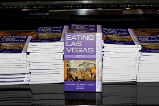 pictured at Eating Las Vegas Book Release event at Joel Robuchon at MGM Grand in Las Vegas, NV on November 17, 2010.  RD/ Erik Kabik/ Retna Digital