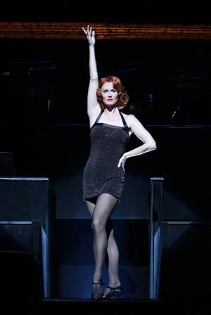 Leigh Zimmerman stars as Velma Kelly in <em>Chicago</em>.