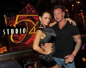 JWoww and Roger Mathews at Studio 54