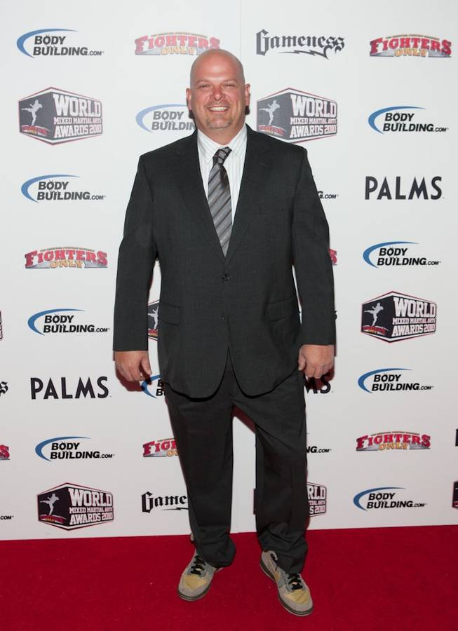 Rick Harrison at the 3rd Annual Fighters Only World MMA Awards at The Pearl in the Palms on Dec. 1, 2010.