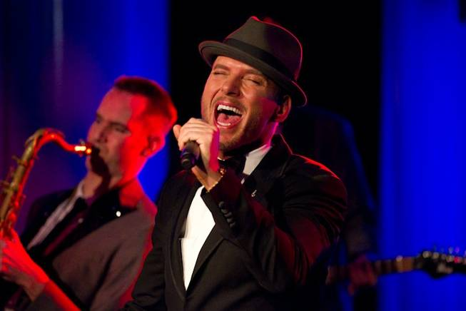 Matt Goss at Vegas Player Television and magazine's launch at Pure in Caesars Palace on Dec. 2, 2010.