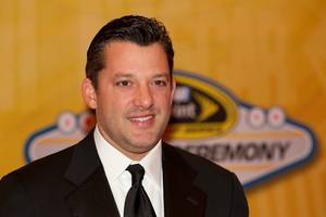 Tony Stewart at the 2010 NASCAR Sprint Cup Series Awards at the Wynn on Dec. 3, 2010.