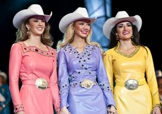 The 2011 Miss Rodeo America Pageant at The Orleans on Dec. 4, 2010.