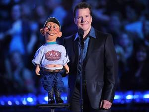 Jeff Dunham at the inaugural American Country Awards at MGM Grand Garden Arena on Dec. 6, 2010.