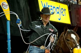 The 2010 Wrangler National Finals Rodeo at the Thomas & Mack Center on Dec. 7, 2010.