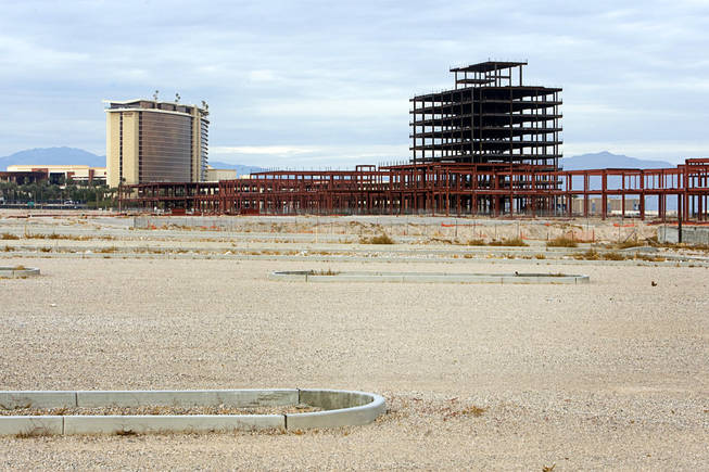 The site of the Summerlin Mall. Photographed December 9, 2010.