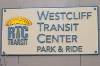 The new Westcliff Transit Center opens Sunday. It will provide quick transportation to downtown, the Strip and McCarran International Airport.