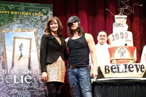Criss Angel's Birthday and 1,000th Believe Show