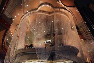 A view of the Chandelier Bar at The Cosmopolitan of Las Vegas on Wednesday, Dec. 15, 2010.