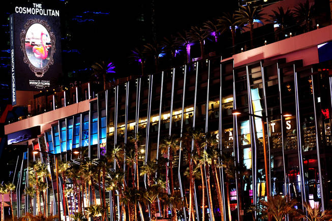 The Cosmopolitan of Las Vegas opens its doors to the public for the first time Wednesday, Dec. 15, 2010.