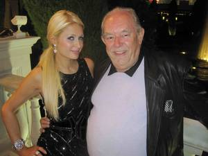 Paris Hilton and Robin Leach.