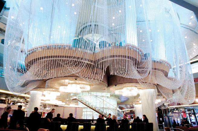 The Chandelier Bar at The Cosmopolitan of Las Vegas on Friday, Dec. 10, 2010.