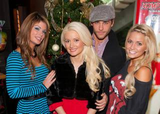Holly Madison's Holly Jolly Toy Drive at El Segundo Sol in Fashion Show on Dec. 18, 2010.