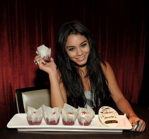 Vanessa Hudgens' 22nd Birthday