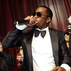 "Sean ""Diddy"" Combs hosts New Year's Eve at LAX at the Luxor on Dec. 31, 2010."