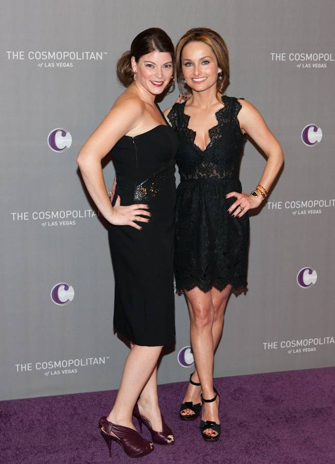 Gail Simmons and Giada De Laurentiis at Marquee's grand opening at The Cosmopolitan of Las Vegas on Dec. 31, 2010.