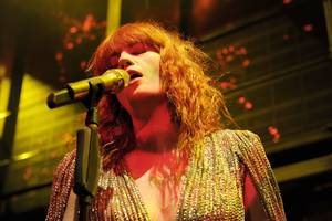 Florence and the Machine at Marquee at The Cosmopolitan on Dec. 30, 2010.