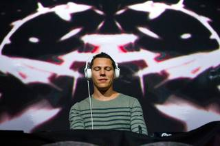 Tiesto in Concert at The Joint at the Hard Rock Hotel on Jan. 1, 2011.