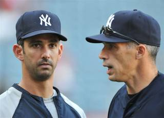 The New York Yankees photographed this year by photographer Tom Donoghue.