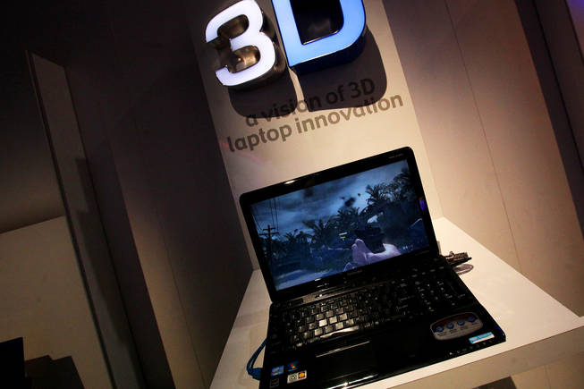 The prototype Toshiba 3D eyeglass-free laptop is nominated for Best of CES CNET Awards 2011.