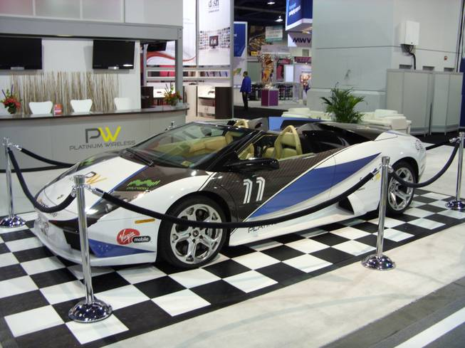 Cars on the floor at CES 2011