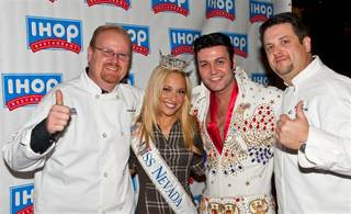 The 2011 Miss America Pageant IHOP pancake-making breakfast on Jan. 7, 2011.