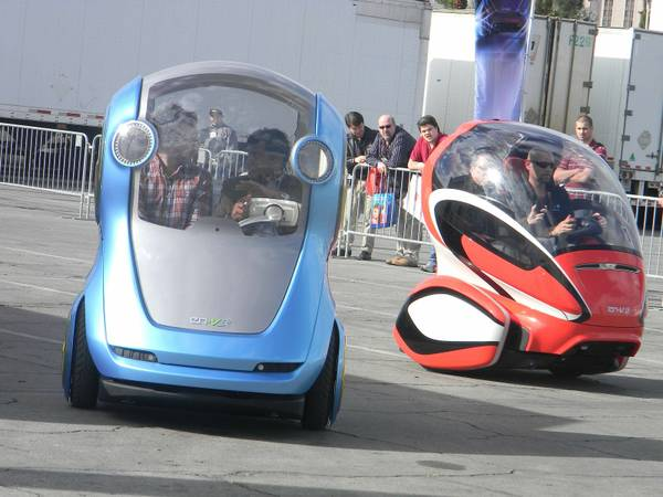GM Official Sees Electric Pod As Urban Vehicle Of Future