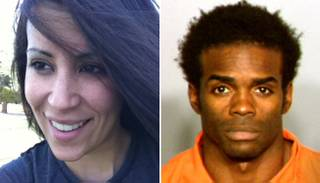 Jason Griffith, right, is charged with murder in the death of dancer Debbie Flores Narvaez.