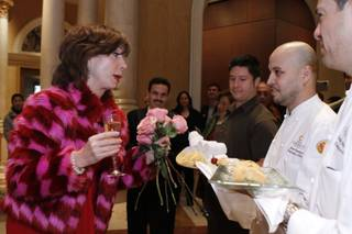 Rita Rudner's welcoming ceremony at The Venetian on Jan. 11, 2011.