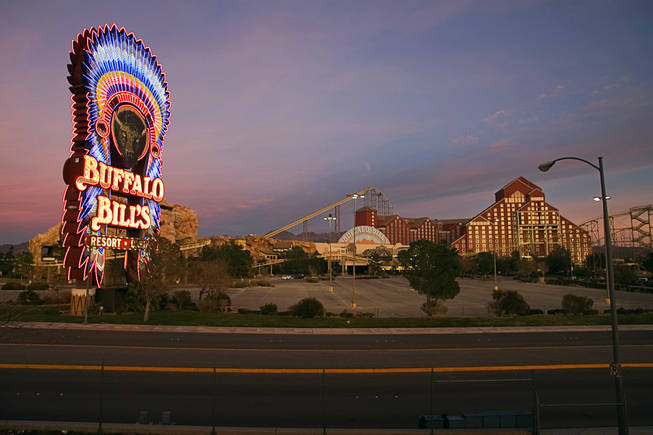 A view of Buffalo Bill's Casino in Primm on Thursday, Jan. 13, 2011.