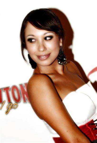Cheryl Burke at the grand opening of Wayne Newton's <em>Once Before I Go</em> at the Tropicana on Oct. 28, 2009.
