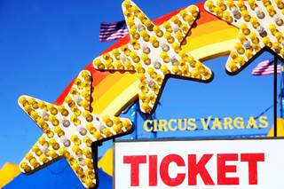Circus Vargas is in town at the Galleria at Sunset mall in Henderson for their performances today through Monday.