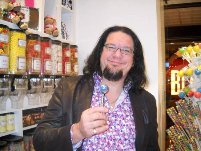 Penn Jillette at Sugar Factory at the Mirage.
