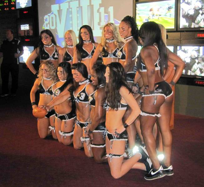 The Lingerie Football League press conference at The Sporting House ...